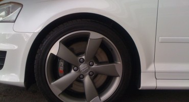 Alloy wheel clean