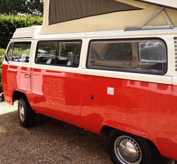 Classic VW Camper valet